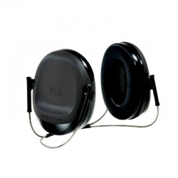 3M H505B-596-SV 900 Welding Earmuff Neck Band Black - Click for more info