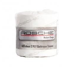Rosche Toilet Tissue 2 Ply 400 Sheet 48 Rolls