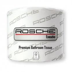 Rosche Toilet Tissue Premium Quilted 3 Ply 400 Sheet 48 Rolls