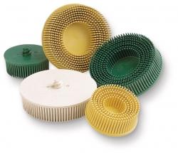 Scotch-Brite Roloc Bristle Disc, 75mm, 80G Yellow - Click for more info