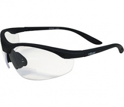 Maxisafe' Clear Bifocal Safety Glasses - 2.0 Magnification