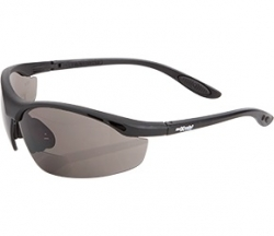 Maxisafe Smoke Bifocal Safety Glasses - 2.5 Magnification