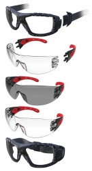 Maxisafe EVOLVE Safety Glasses with gasket and strap