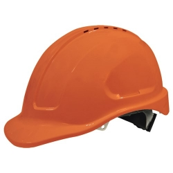 Maxisafe Vented Hard Hat - Orange