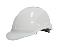 Maxisafe Vented Hard Hat - White