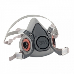 3M 6200 Standard Half Face Respirator - Medium