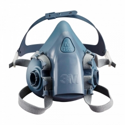 7500 SERIES 3M Half Face Respirator - Medium M7502