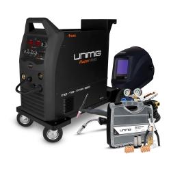 Unimig Razor 250 Compact Mig/Tig/Stick Welder Bundle  Contents: RAZOR 250 COMPAC - Click for more info