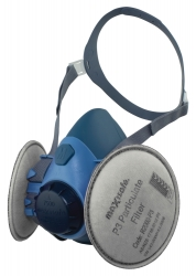 Maxiguard Silicone Half Mask With P3 Filters - Large - Click for more info